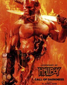 """Das Hauptplakat von """"Hellboy - Call of Darkness"""" (© Universum Film)"""