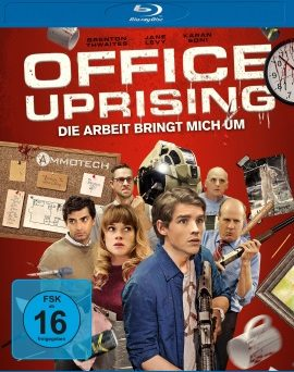 "Das Blu-ray-Cover von ""Office Uprising"" (© Universum Film)"