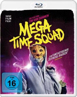 "Das Blu-ray-Cover von ""Mega Time Squad"" (© Pandastorm Pictures)"