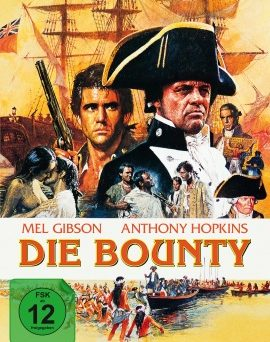 """Das Artwork des Mediabooks von """"Die Bounty"""" (© Capelight Pictures)"""