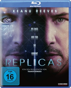 "Das Blu-ray-Cover von ""Replicas"" (© Concorde Home Entertainment)"
