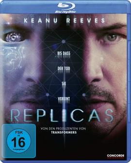 "Das Blu-ray-Cover von ""Replicas"" (© Concorde Home Entertainment)"