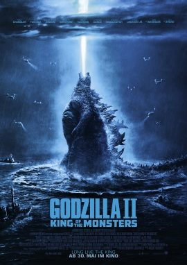 "Das Plakat von ""Godzilla 2 - King of the Monsters"" (© 2019 Warner Bros Pictures)"