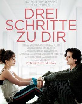 """Das Hauptplakat von """"Drei Schritte zu dir"""" (© Universal Pictures)"""