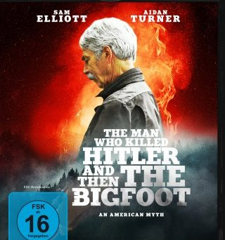 "Das Blu-ray-Cover von ""The Man Who Killed Hitler and then the Bigfoot"" (© Capelight Pictures)"