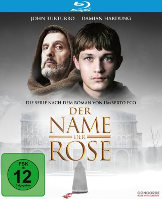 "Das Blu-ray-Cover von ""Der Name der Rose"" (© Concorde Home Entertainment)"