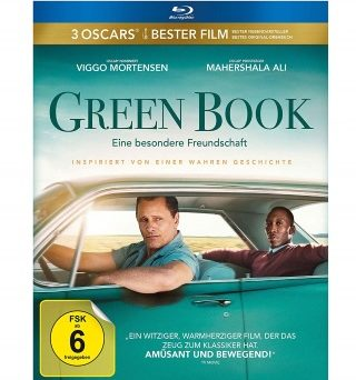 "Das Blu-ray-Cover von ""Green Book"" (© eOne Germany)"