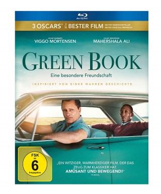 "Das Blu-ray-Cover von ""Green Book"" (© eOne Germany)"