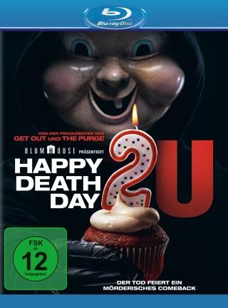 """Das Blu-ray-Cover von """"Happy Deathday 2U"""" (© Universal Pictures)"""