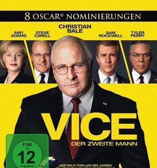 """Das Blu-ray-Cover von """"Vice - Der zweite Mann"""" (© Universum Film)"""