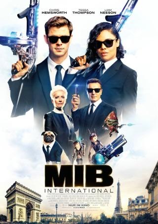 """Das Hauptplakat von """"Men in Black - International"""" (© 2019 Sony Pictures Entertainment Deutschland GmbH)"""