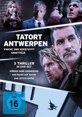 """Das DVD-Cover von """"Tatort Antwerpen"""" (© Atlas Film)"""