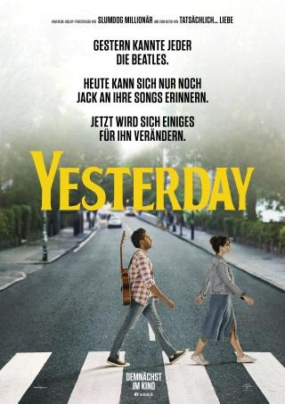 """Das Hauptplakat von """"Yesterday"""" (© Universal Pictures)"""