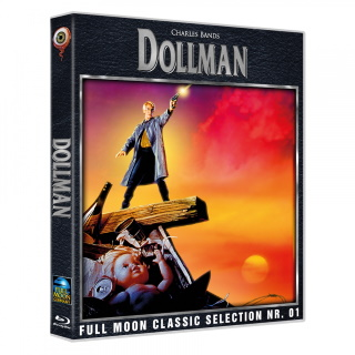 "Das Blu-ray-Cover von ""Dollman - Der Space-Cop"" (© 2019 Wicked Vision Media)"