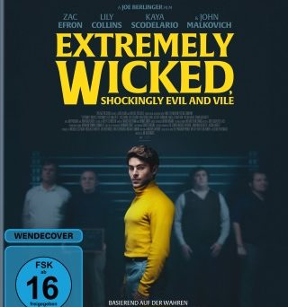 "Das Blu-ray-Cover von ""Extremely Wicked, Shockingly Evil and Vile"" (© Constantin Film/Highlight Communications)"