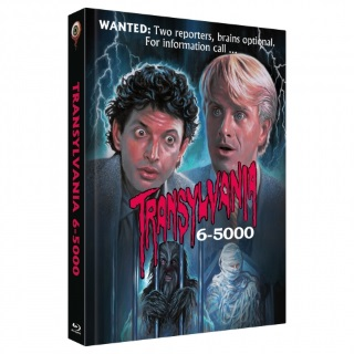 "Das Cover-B-Artwork des Mediabooks von ""Transylvania 6-5000"" (© Wicked Vision Media)"