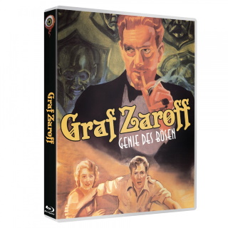 "Das Cover der 2-Disc Limited Special Edition von ""Graf Zaroff - Genie des Bösen"" (© Wicked Vision Media)"