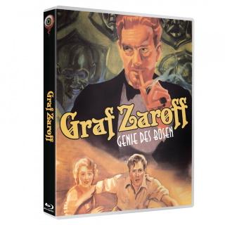 """Das Cover der 2-Disc Limited Special Edition von """"Graf Zaroff - Genie des Bösen"""" (© Wicked Vision Media)"""