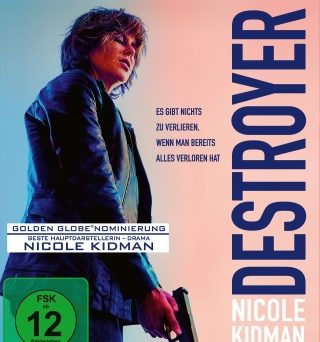 "Das Blu-ray-Cover von ""Destroyer"" (© Concorde Home Entertainment)"