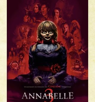 "Das Hauptplakat von ""Annabelle 3"" (© 2019 WARNER BROS. ENTERTAINMENT INC.)"
