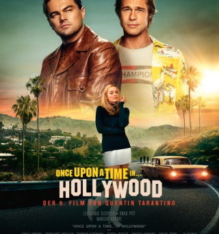 "Das Hauptplakat von ""Once Upon A Time...in Hollywood"" (© 2019 Sony Pictures Entertainment Deutschland GmbH)"