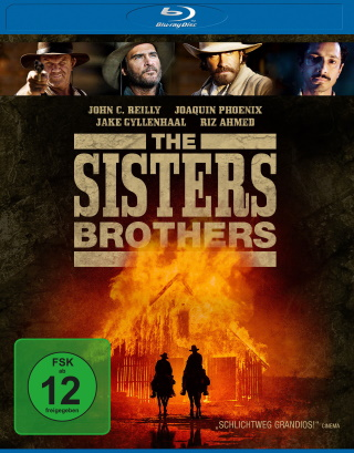 """Das Blu-ray-Cover von """"The Sisters Brothers"""" (© Universum Film)"""