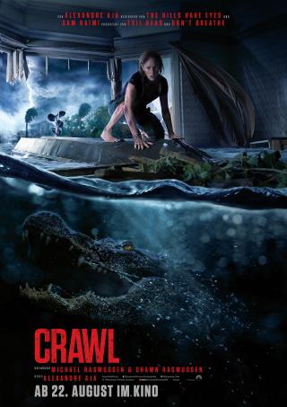 """Das Hauptplakat von """"Crawl"""" (© 2019 Paramount Pictures)"""