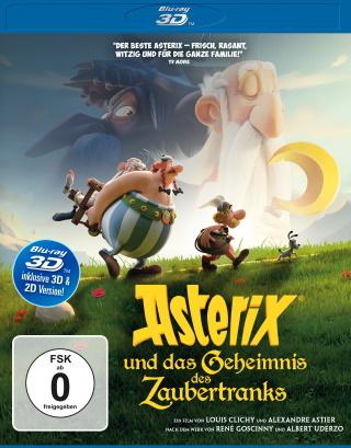 """Das Blu-ray-Cover von """"Asterix und das Geheimnis des Zaubertranks"""" (© Universum Film)"""