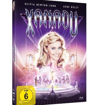 "Das Artwork des Mediabooks von ""Xanadu"" (© Justbridge Entertainment)"