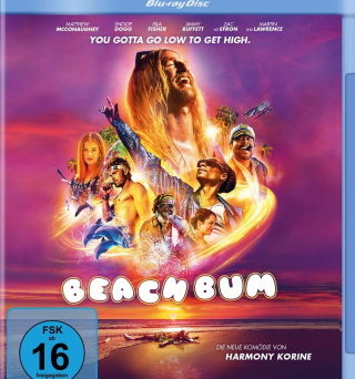 "Das Blu-ray-Cover von ""Beach Bum"" (© Constantin Film)"