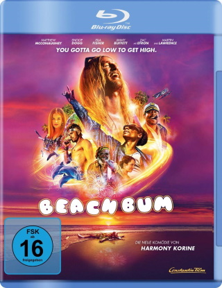 "Das Blu-ray-Cover von ""Beach Bum"" (© Constantin Film)"