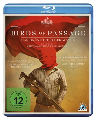 """Das Blu-ray-Cover von """"Birds of Passage"""" (© MFA Film)"""