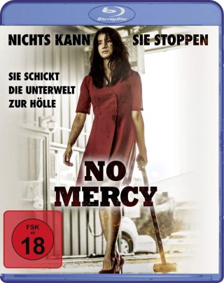 "Das Blu-ray-Cover von ""No Mercy"" (© Busch Media Group)"