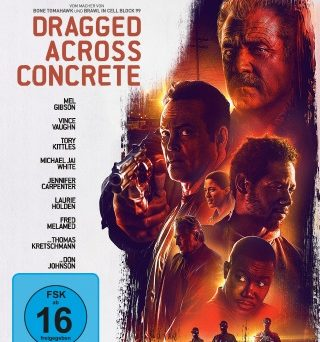 "Das Blu-ray-Cover von ""Dragged Across Concrete"" (© Universum Film)"