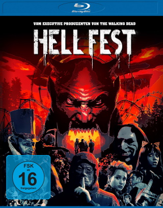 "Das Blu-ray-Cover von ""Hell Fest"" (© Square One/Universum Film)"