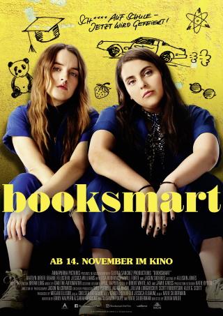 """Das Hauptplakat von """"Booksmart"""" (© Weltkino)"""