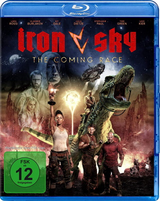 "Das Blu-ray-Cover von ""Iron Sky – The Coming Race"" (© Splendid Film)"