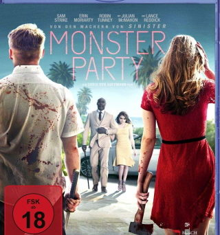 "Das Blu-ray-Cover von ""Monster Party"" (© Busch Media Group)"