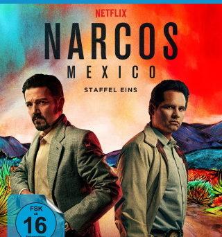 """Das Blu-ray-Cover von """"NARCOS Mexico"""" (© Polyband)"""
