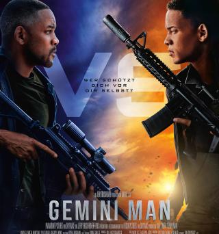 """Das Hauptplakat von """"Gemini Man"""" (© 2019 Paramount Pictures)"""
