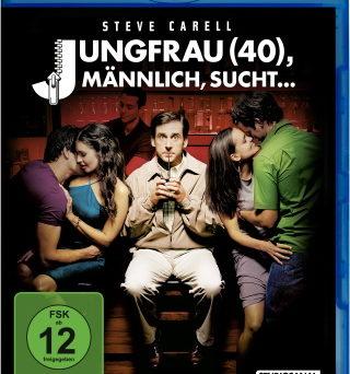 """Das Blu-ray-Cover von """"Jungfrau (40), männlich, sucht..."""" (© StudioCanal)"""