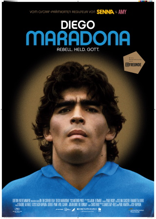 """Das Poster zu """"Diego Maradona"""" (© DCM)"""