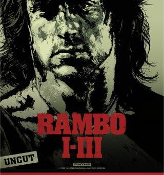 Das Event-Plakat zur Speical Night Rambo I-III (© StudioCanal)