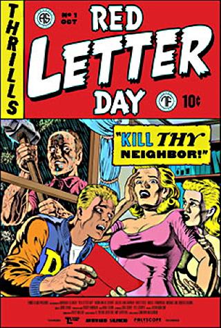 "Das Hauptplakat von ""Red Letter Day"" (© RLD Productions Ltd. 2019)"