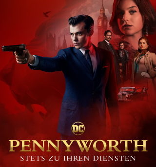 "Das Artwork zu ""Pennyworth""(© Starzplay)"