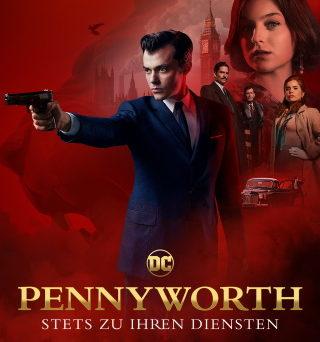 "Das Artwork zu ""Pennyworth""(© Starzplay)"
