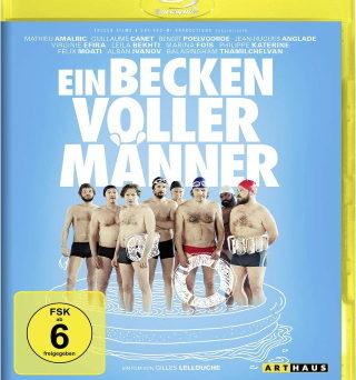 """Das Blu-ray-Cover von """"Ein Becken voller Männer"""" (© StudioCanal)"""