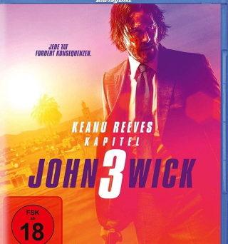 """Das Blu-ray-Cover von """"John Wick 3"""" (© Concorde Home Entertainment)"""