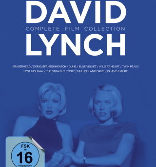 """Das Blu-ray-Cover der """"David Lynch Complete Film Collection"""" (© StudioCanal)"""
