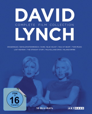 "Das Blu-ray-Cover der ""David Lynch Complete Film Collection"" (© StudioCanal)"